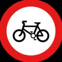 Roadsign No Cycles