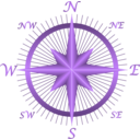 download Compass clipart image with 225 hue color