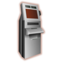 download Kiosk Terminal clipart image with 135 hue color