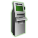 download Kiosk Terminal clipart image with 225 hue color