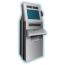 download Kiosk Terminal clipart image with 315 hue color