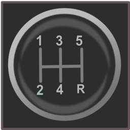 Gear Shift Knob Icon