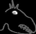 Funny Measles Dinosaur