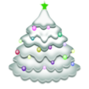 download Christmas Tree clipart image with 45 hue color