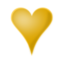 download Heart clipart image with 45 hue color