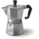 download Italian Coffee Maker clipart image with 45 hue color