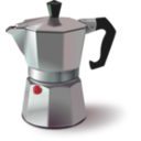 download Italian Coffee Maker clipart image with 315 hue color