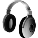 download Headphone clipart image with 315 hue color