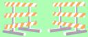2 Barricades