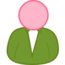 download User 2 clipart image with 315 hue color