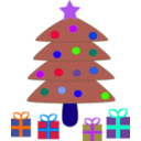 download Christmas clipart image with 225 hue color