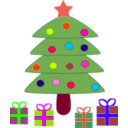 download Christmas clipart image with 315 hue color