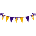 download Jubilee Bunting clipart image with 45 hue color