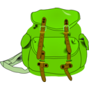 download Backpack clipart image with 45 hue color