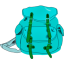 download Backpack clipart image with 135 hue color