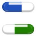 download Pills clipart image with 225 hue color