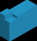Chunky 3d File Folder