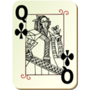 Guyenne Deck Queen Of Clubs