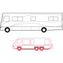 Two Motorhomes