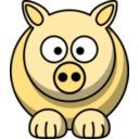 download Pig2 clipart image with 45 hue color