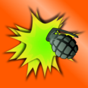 download Grenade Explosion clipart image with 45 hue color