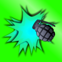 download Grenade Explosion clipart image with 135 hue color