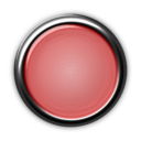 Red Button With Internal Light