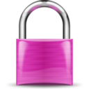 download Padlock Red clipart image with 315 hue color