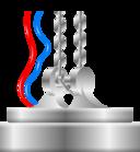 Magnet Crane Icon