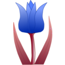download Tulipa clipart image with 225 hue color