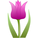 download Tulipa clipart image with 315 hue color
