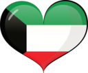 Kuwait Heart Flag