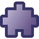 download Icon Puzzle2 Purple clipart image with 315 hue color