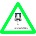 download Disc Golf Roadsign clipart image with 135 hue color