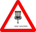 Disc Golf Roadsign