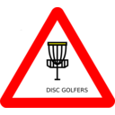 Disc Golf Roadsign