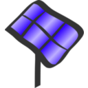 download Solar Tracker clipart image with 45 hue color