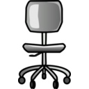 download Office Chair clipart image with 135 hue color