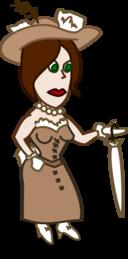 Comic Characters Lady