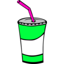 download Fast Food Drinks Soda Fountain clipart image with 135 hue color