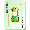 download Ornamental Deck Black Joker clipart image with 45 hue color