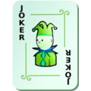 download Ornamental Deck Black Joker clipart image with 90 hue color