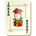 download Ornamental Deck Black Joker clipart image with 0 hue color