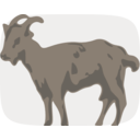download Goat clipart image with 45 hue color