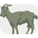 download Goat clipart image with 90 hue color