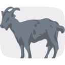 download Goat clipart image with 225 hue color