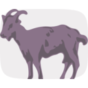 download Goat clipart image with 315 hue color