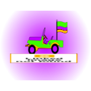 download Jeep Colombiano clipart image with 45 hue color