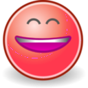 download Tango Face Smile Big clipart image with 315 hue color