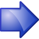 Arrow Blue Right